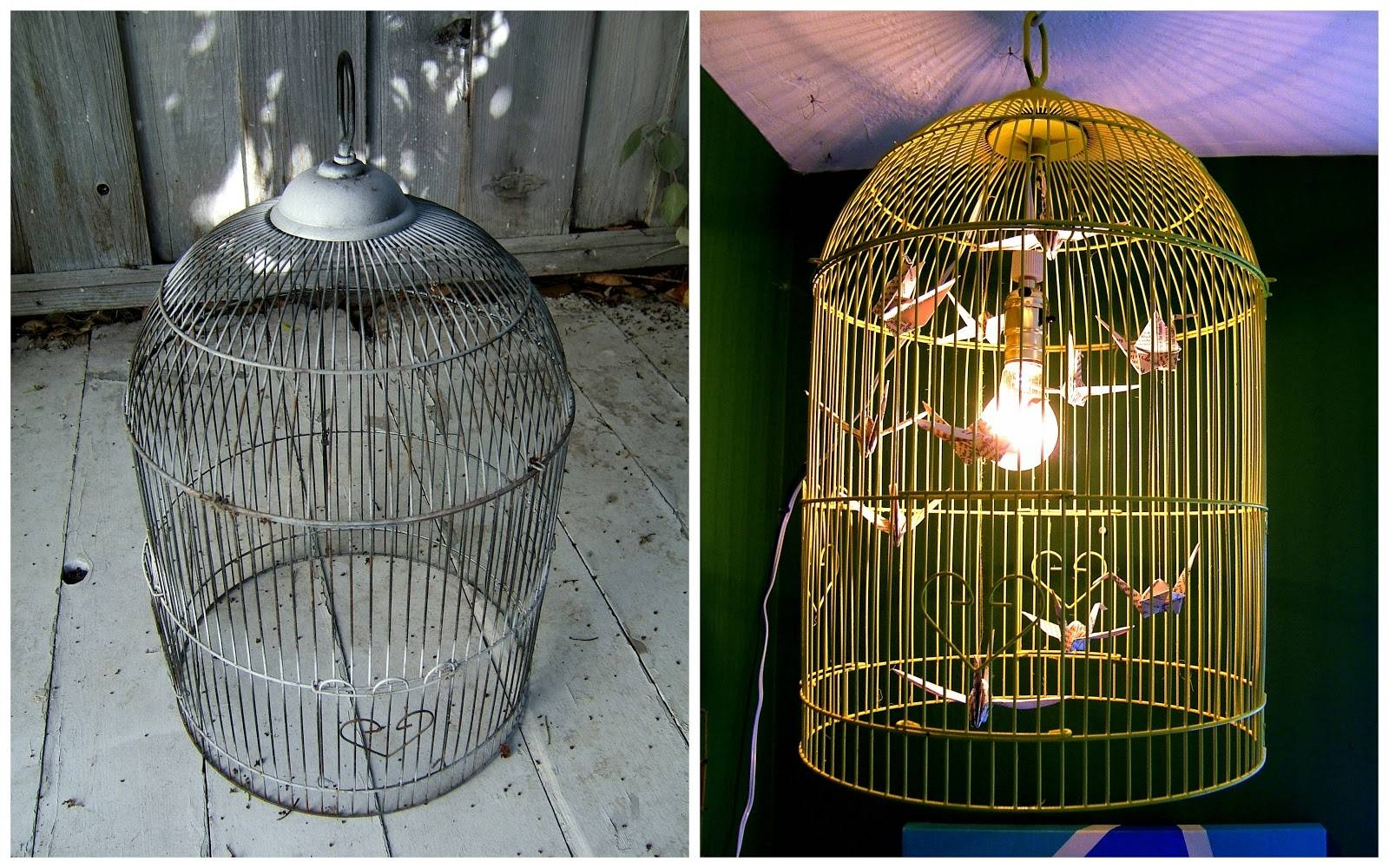 Nine Red: How To: Bird Cage Chandelier for Birdcage Lighting Chandeliers (Image 12 of 15)