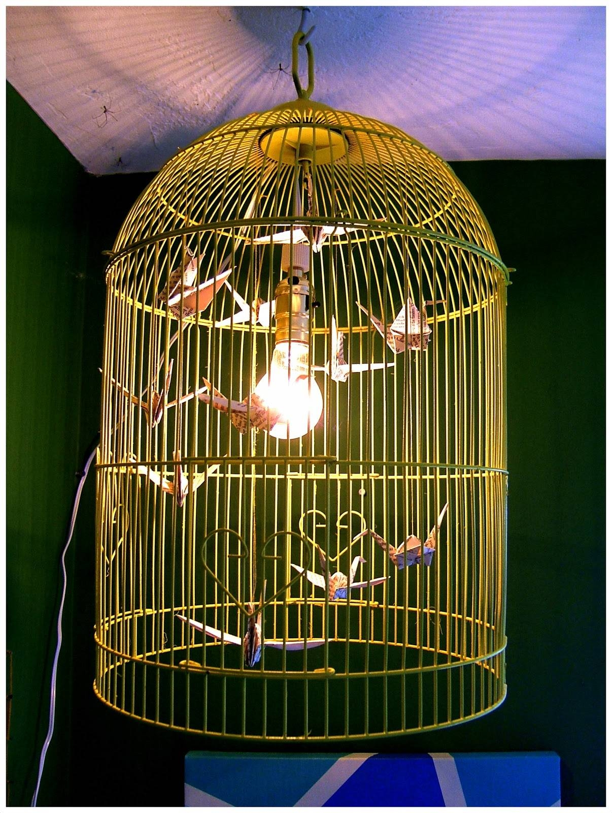 Nine Red: How To: Bird Cage Chandelier for Birdcage Pendant Lights Chandeliers (Image 13 of 15)