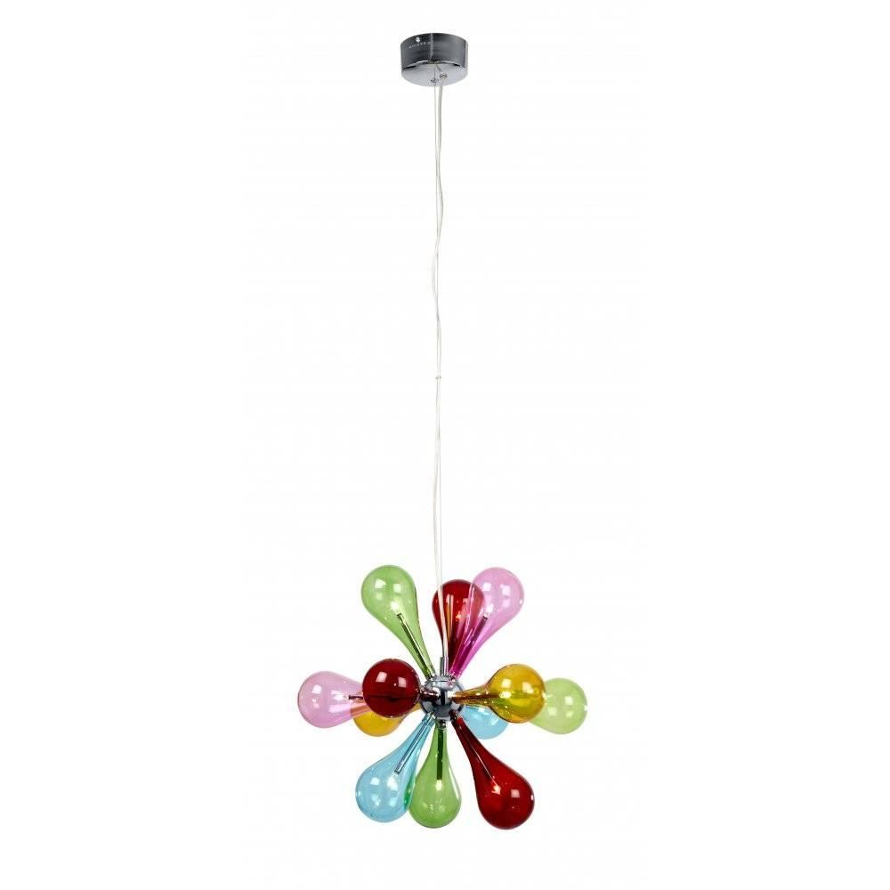 Niven-9Multi Pendant | Ultra Modern Pendants | Muti Coloured Pendant with Multi Coloured Pendant Lights (Image 8 of 15)