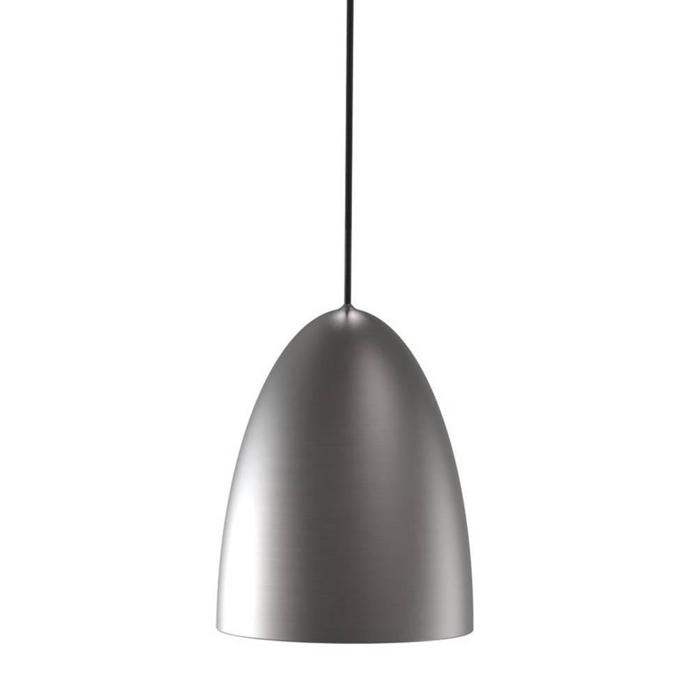 Nordlux Nexus 20 1 Light Brushed Steel Pendant Light with regard to Brushed Stainless Steel Pendant Lights (Image 10 of 15)