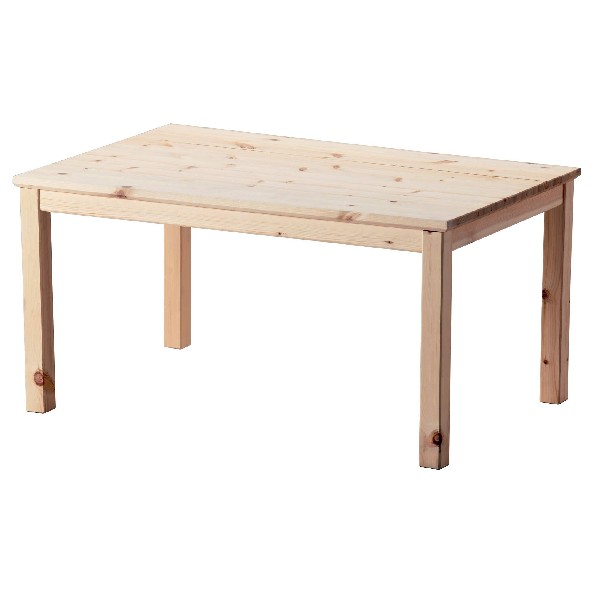 Nornäs Coffee Table Pine 89X59 Cm - Ikea throughout Wooden Coffee Tables (Image 10 of 15)