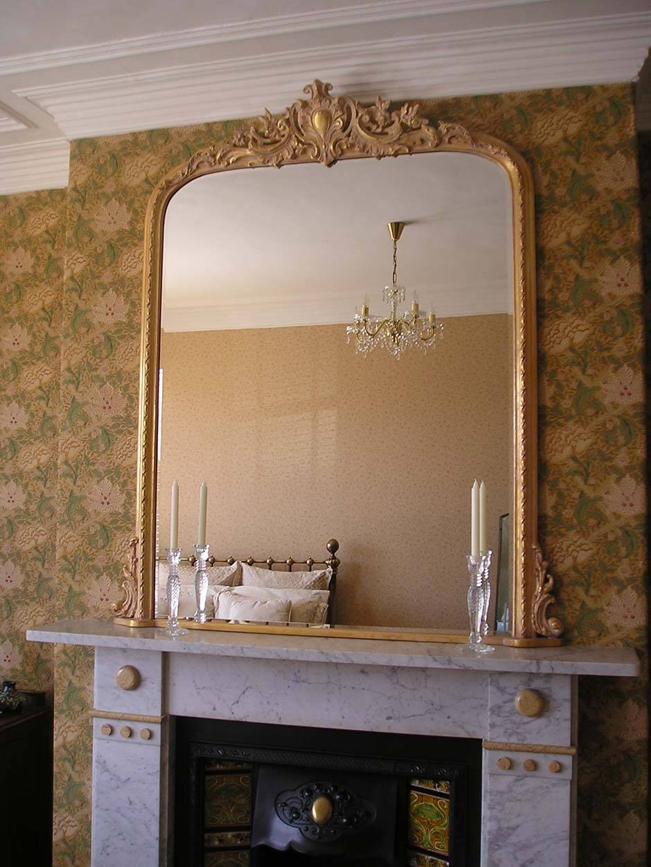 Featured Photo of Gold French Mirrors