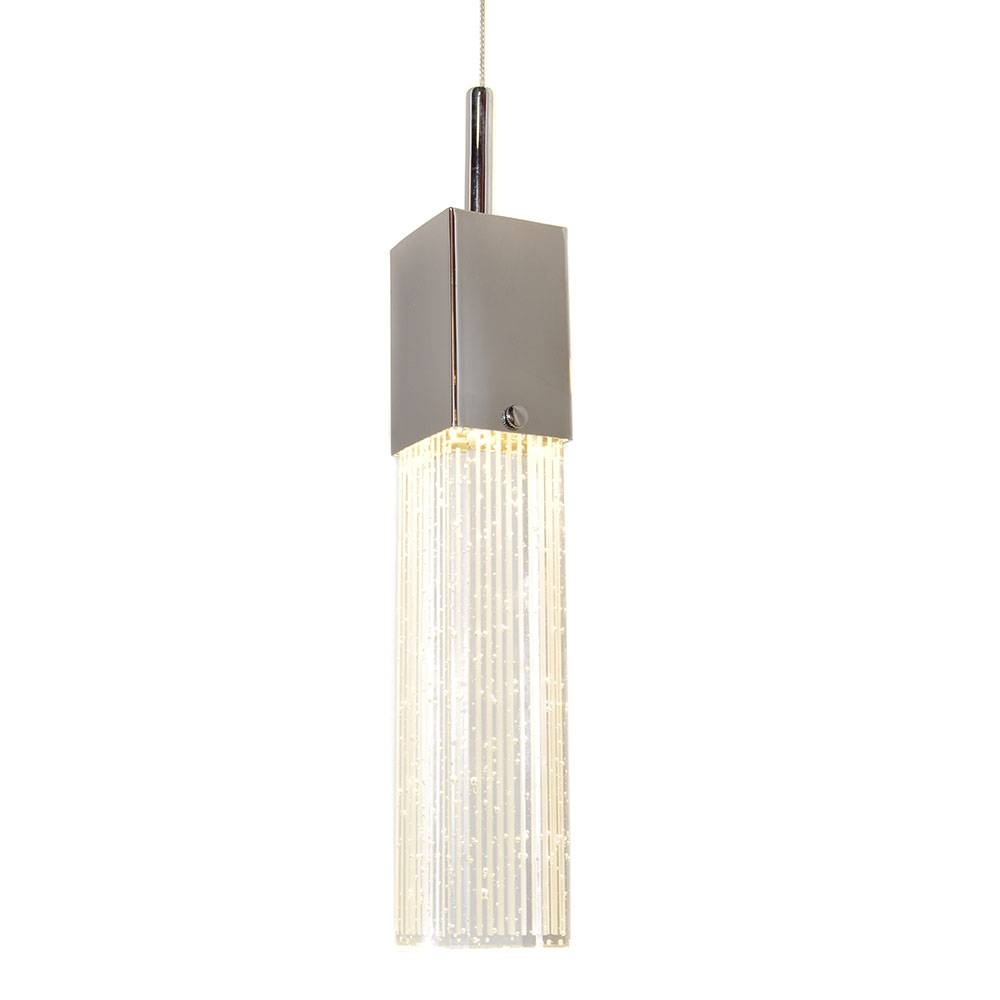 Nowlighting Offers: Et2 Lighting Et-132749 Lighting Polished with regard to Bubble Glass Pendant Lights (Image 13 of 15)