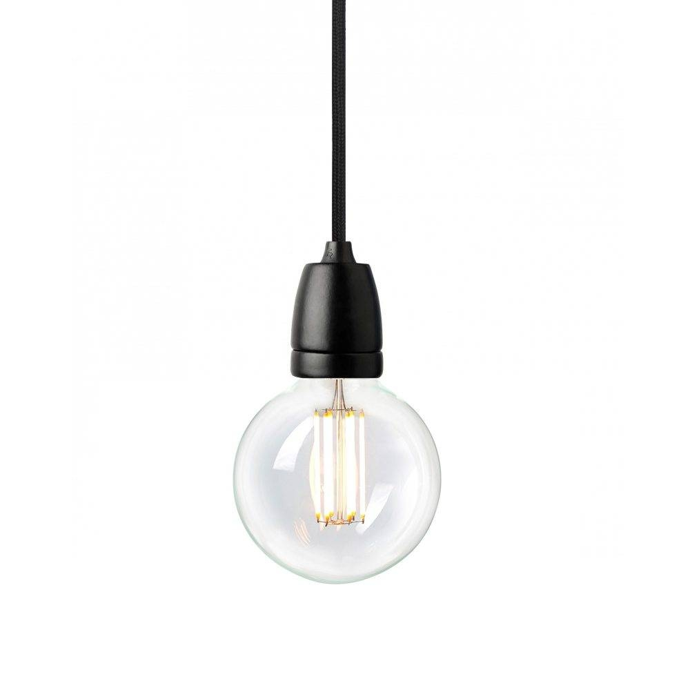 Nud Classic Black Pendant With Black Cord For Nud Classic Pendant Lights (View 3 of 15)