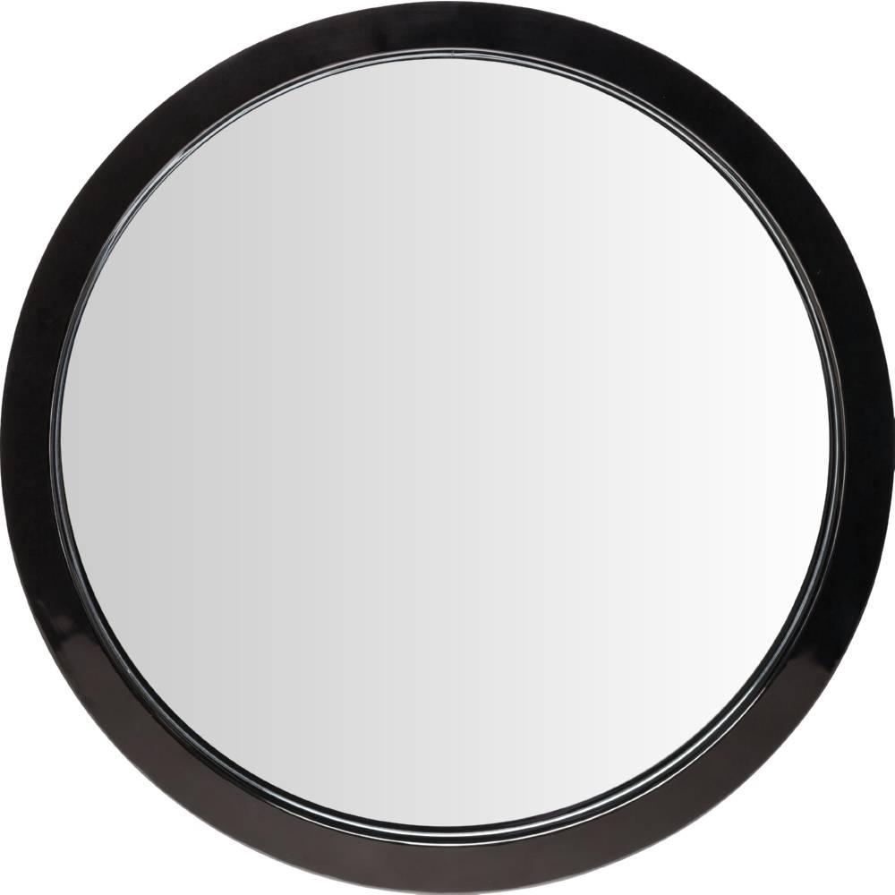 Nuevo Modern Furniture Hgde182 Julia Large Round Mirror In Black regarding Large Black Round Mirrors (Image 11 of 15)