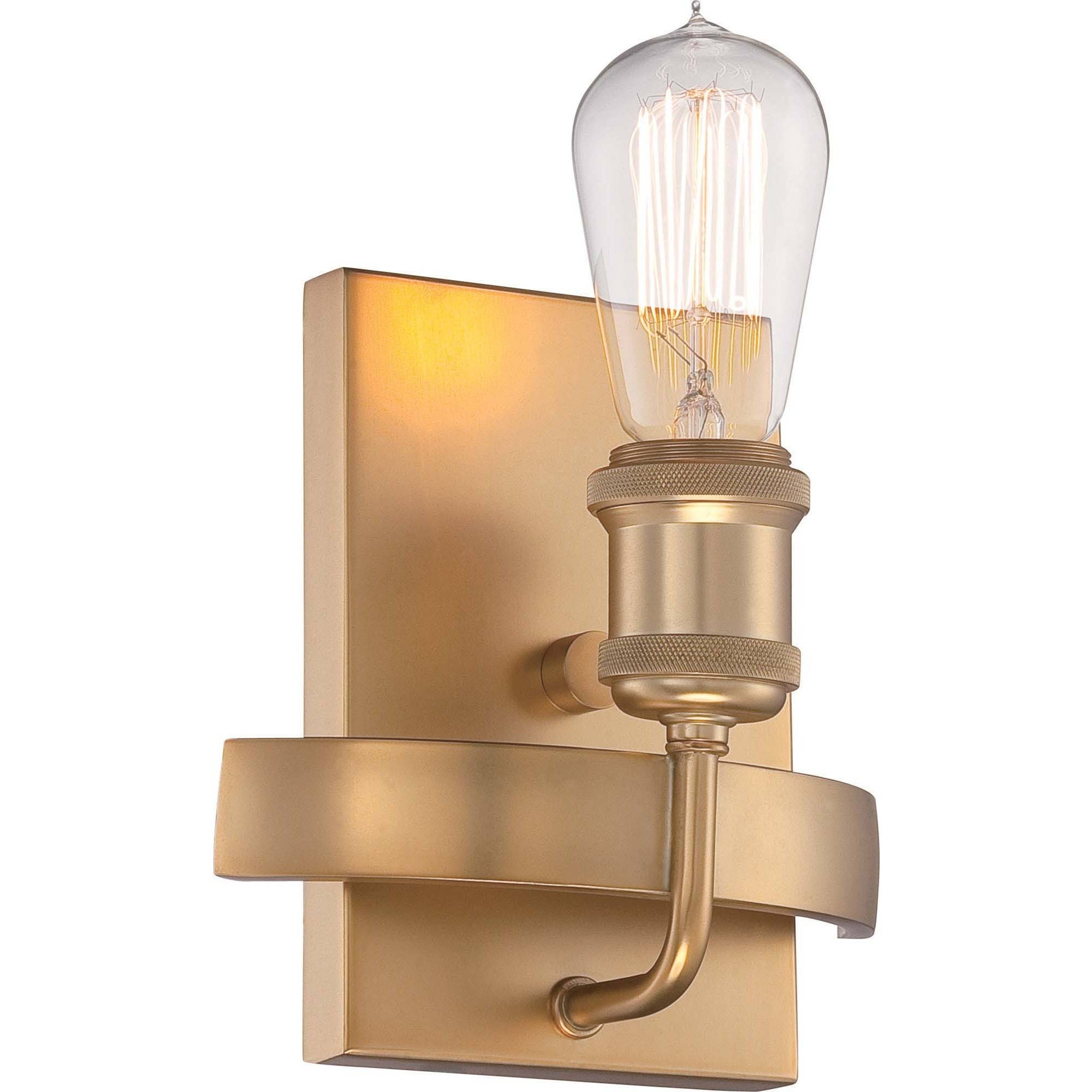 Nuvo 60-5712 | 1-Light Natural Brass Mini Pendant | Paxton regarding Paxton Pendant Lights (Image 14 of 15)