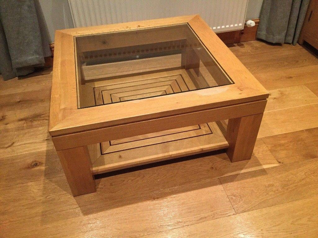Oak And Glass M&s Coffee Table | In Kearsley, Manchester | Gumtree regarding Mands Coffee Tables (Image 13 of 15)