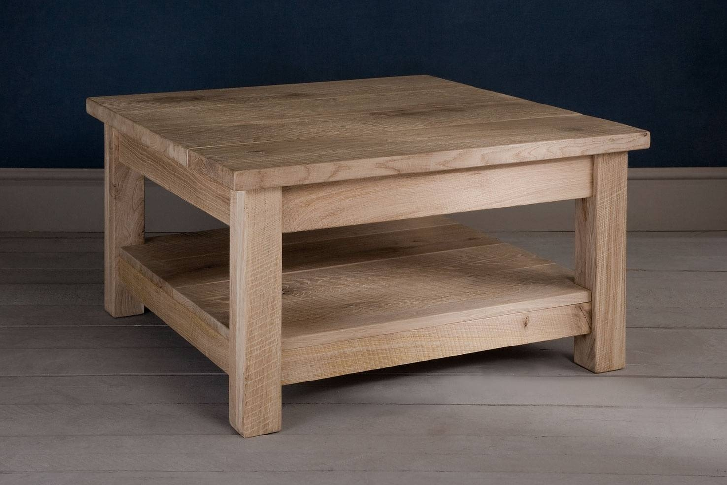 Oak Coffee Tableindigo Furniture intended for Large Oak Coffee Tables (Image 11 of 15)