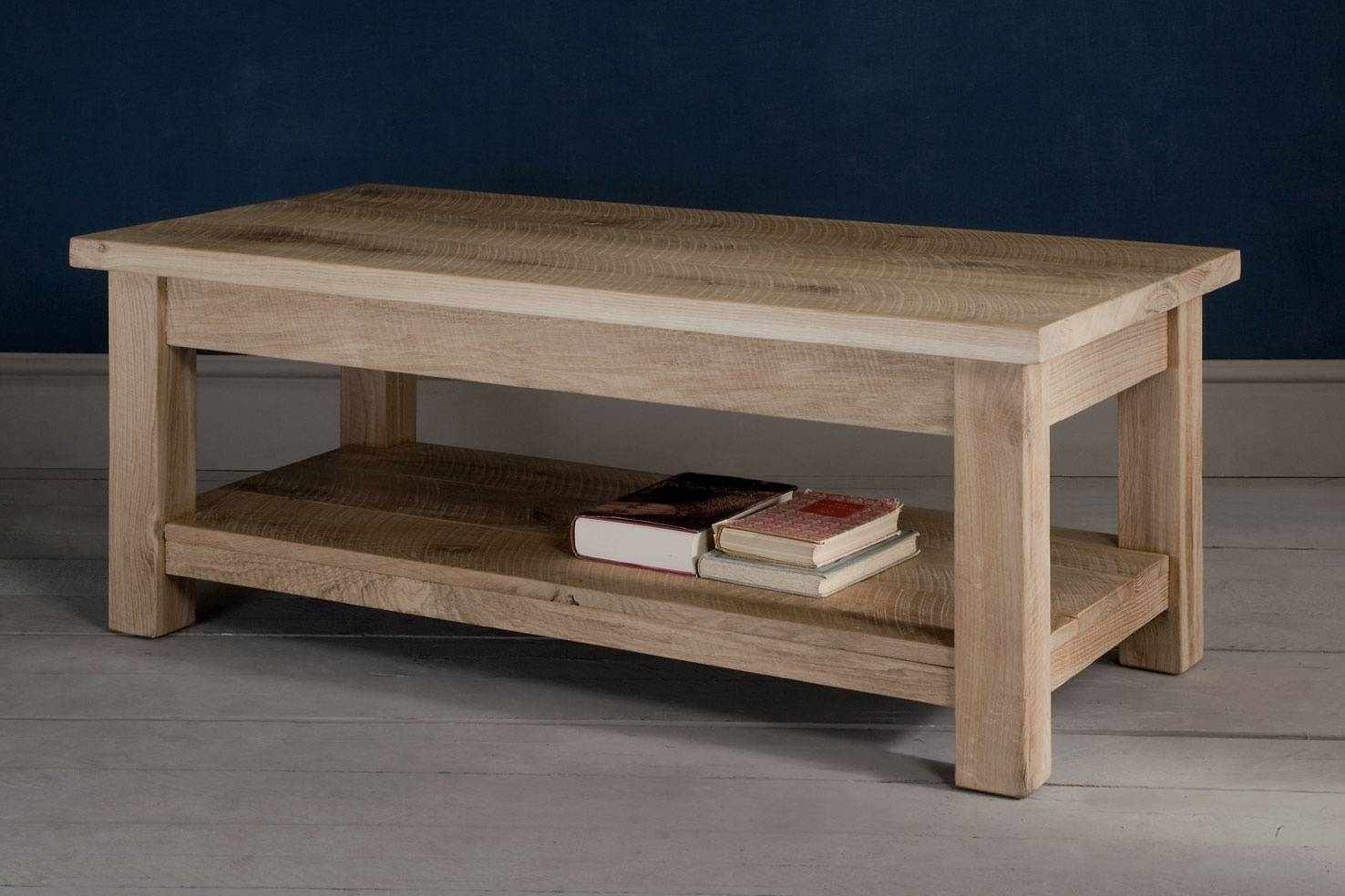 Oak Coffee Tableindigo Furniture regarding Oak Coffee Tables With Storage (Image 9 of 15)