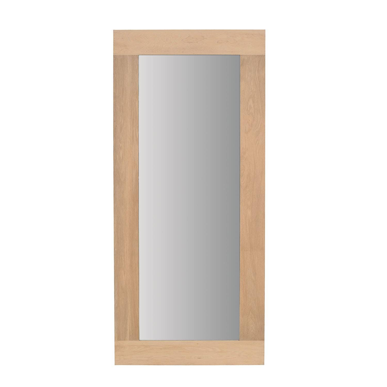 Oak Mirror 200 Cm with regard to Oak Mirrors (Image 8 of 15)