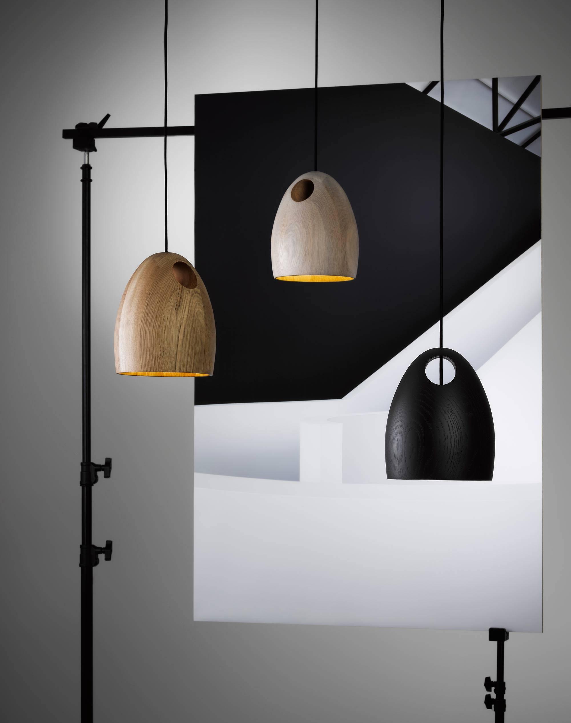 Oak Pendant Light | Ross Gardam - Melbourne Australia inside Wooden Pendant Lights Melbourne (Image 15 of 15)
