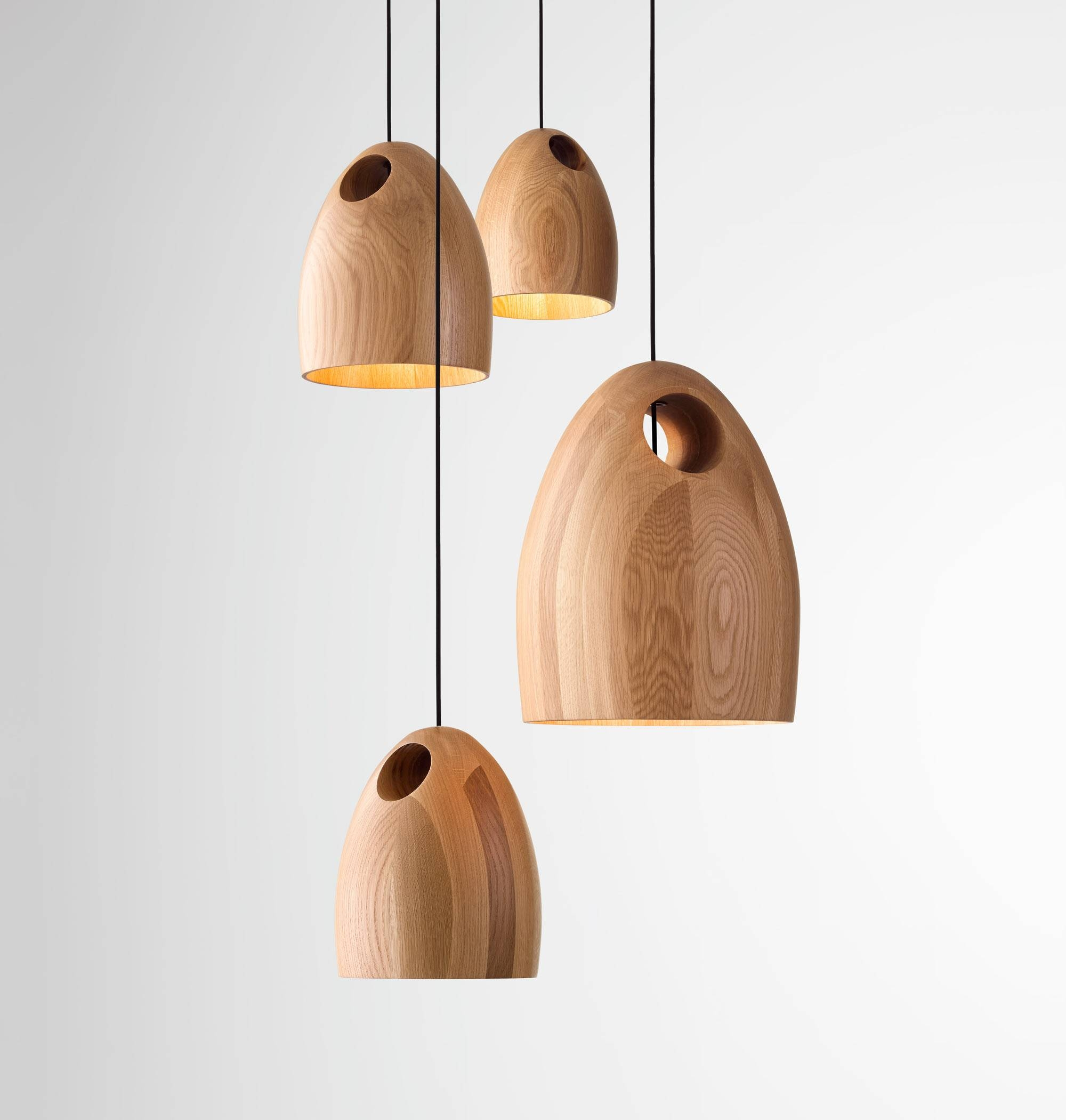 Oak Pendant Light | Ross Gardam - Melbourne Australia throughout Wooden Pendant Lights Australia (Image 13 of 15)