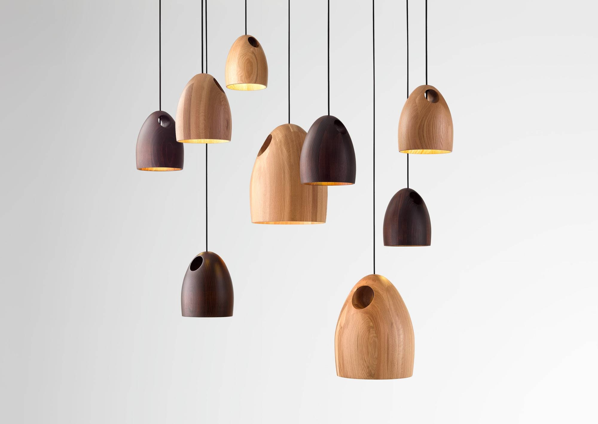 Oak Pendant Light | Ross Gardam – Melbourne Australia With Melbourne Kitchen Pendant Lights (View 9 of 15)