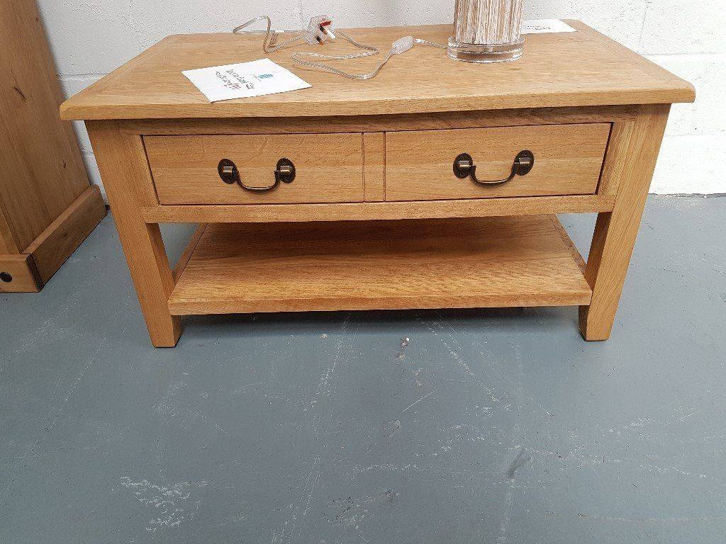 Oak Veneer Coffee Table Already Built & Can Deliver (View 8 of 15)