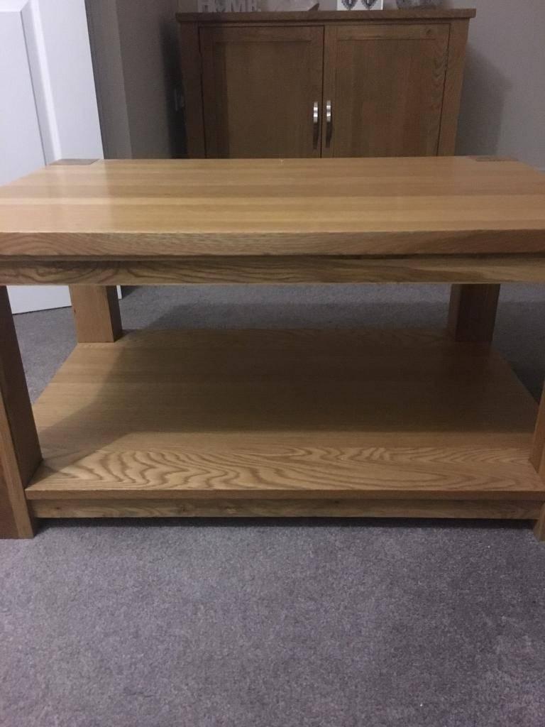 Oak Veneer Coffee Table | In Heckmondwike, West Yorkshire | Gumtree Inside Oak Veneer Coffee Tables (View 7 of 15)