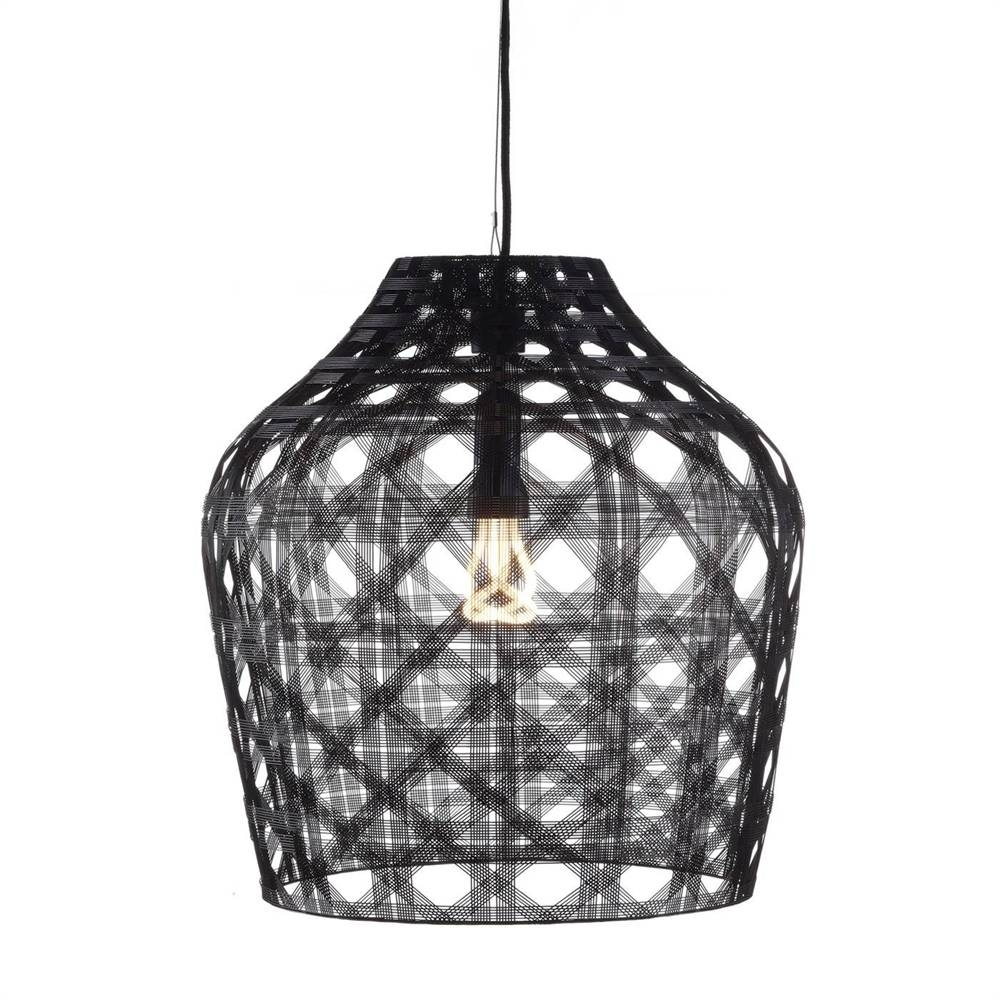 Oggetti 49-Mac/blk Schema Macarena Pendant Light | The Mine pertaining to Oggetti Pendant Lights (Image 4 of 15)