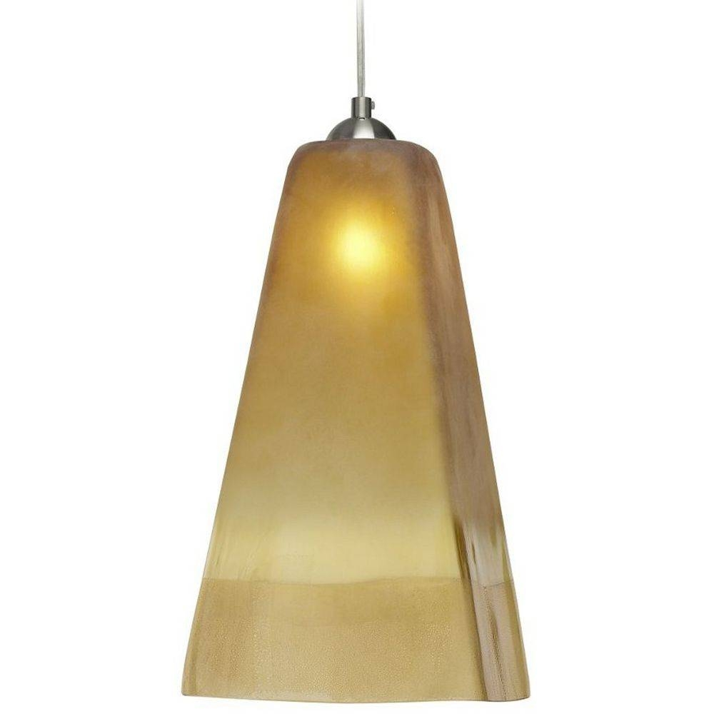 Oggetti Lighting San Marco Satin Nickel Mini-Pendant Light With inside Oggetti Pendant Lights (Image 8 of 15)