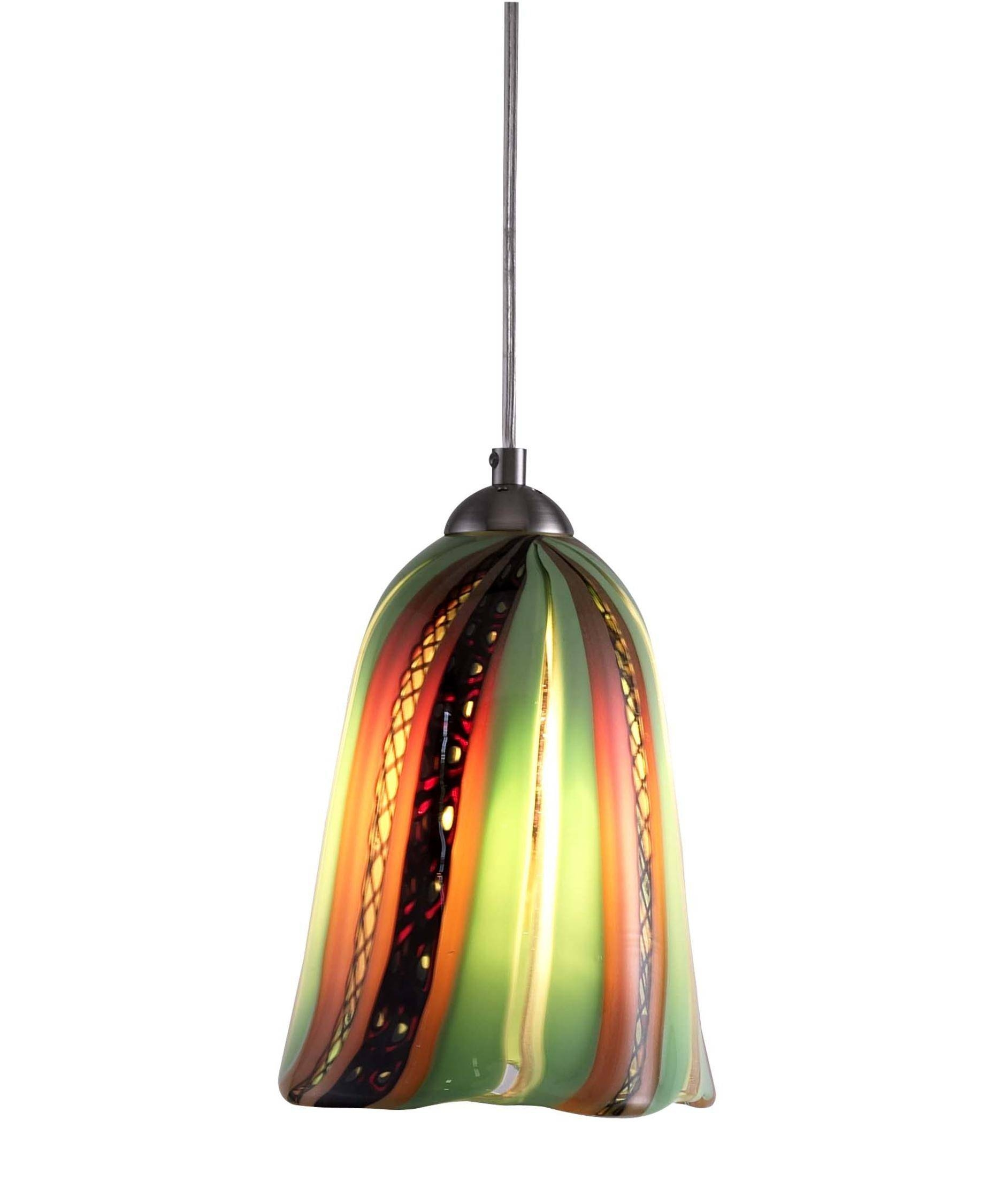 Oggetti Luce Fiorhal Amore Fiore 7 Inch Wide 1 Light Mini Pendant throughout Oggetti Pendant Lights (Image 12 of 15)