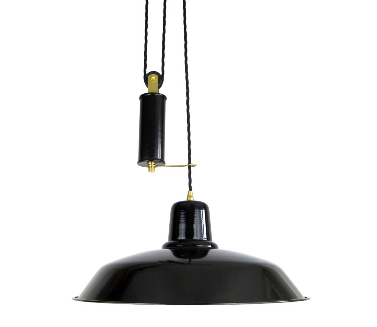 Old School Rise & Fall Light - The French House intended for Rise and Fall Pendants (Image 10 of 15)