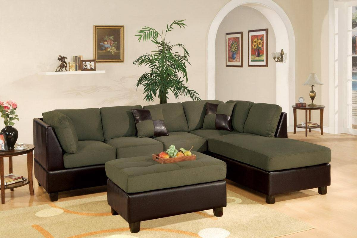 15 Best Collection Of Olive Green Sectional Sofas