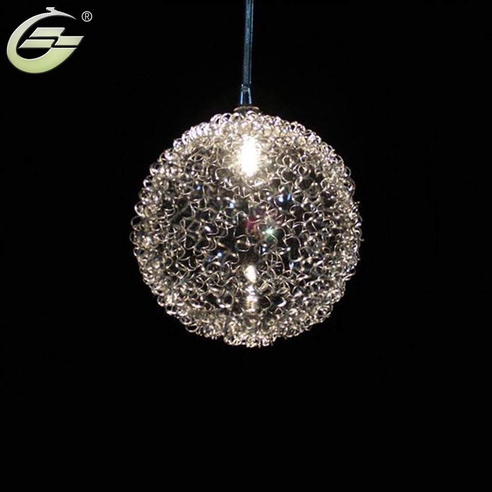 Online Buy Wholesale Aluminium Wire Ball Pendant Light From China regarding Wire Ball Pendant Lights (Image 11 of 15)