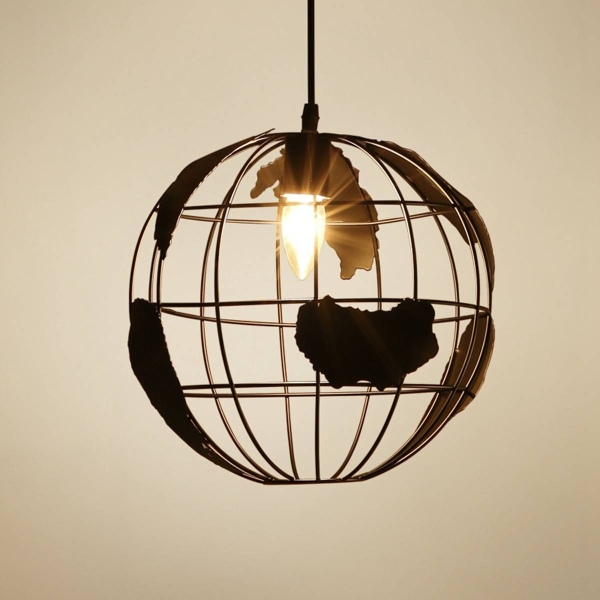 Online Buy Wholesale Hanging Globe Lights From China Hanging Globe in Earth Globe Lights Fixtures (Image 10 of 15)