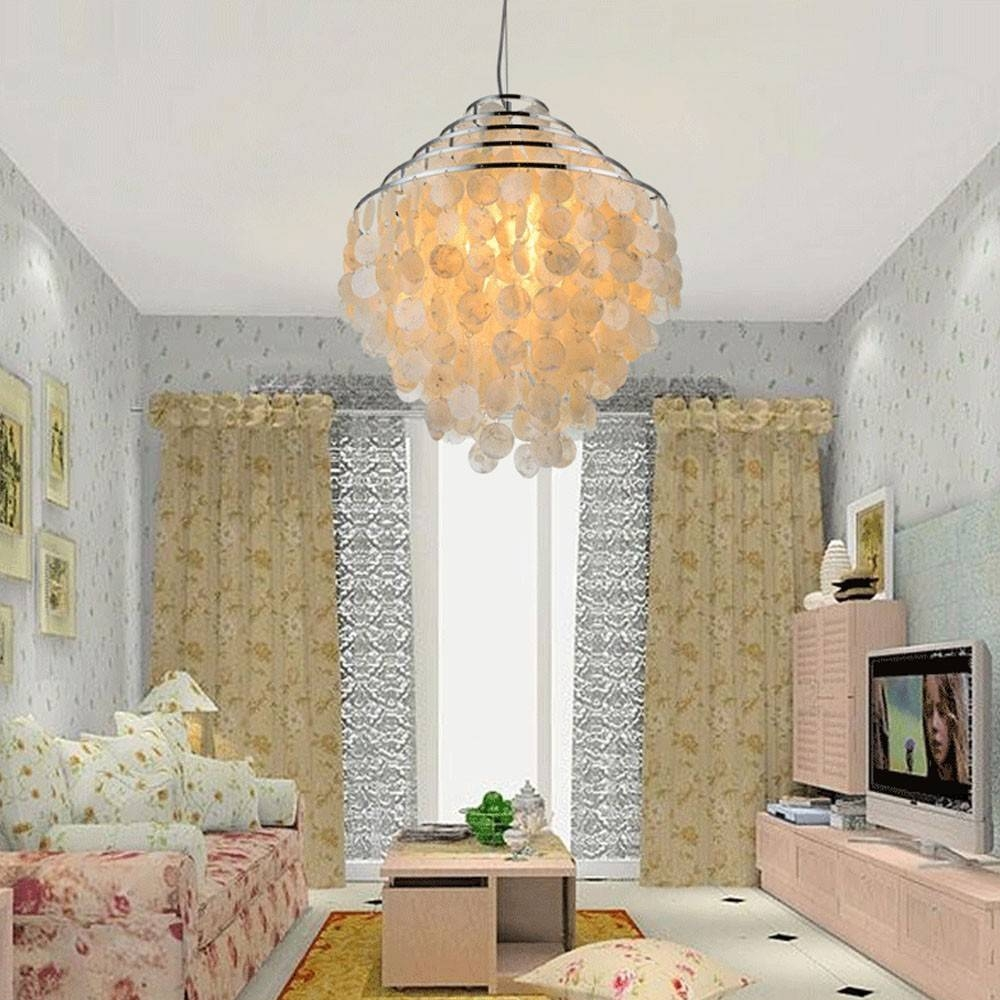 Online Buy Wholesale Shell Chandelier Light From China Shell within Shell Lights Shades Pendants (Image 6 of 15)
