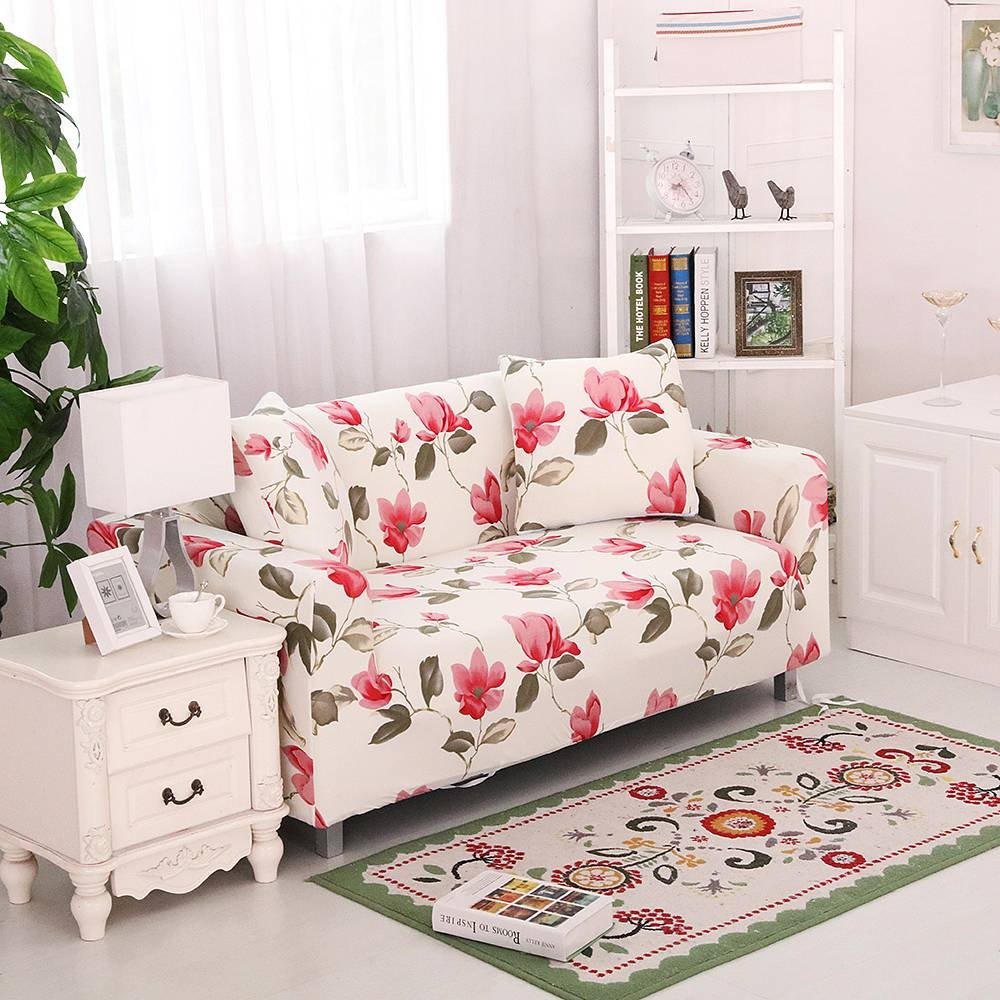 Online Get Cheap Floral Sofa Slipcover -Aliexpress | Alibaba Group pertaining to Floral Sofa Slipcovers (Image 8 of 15)