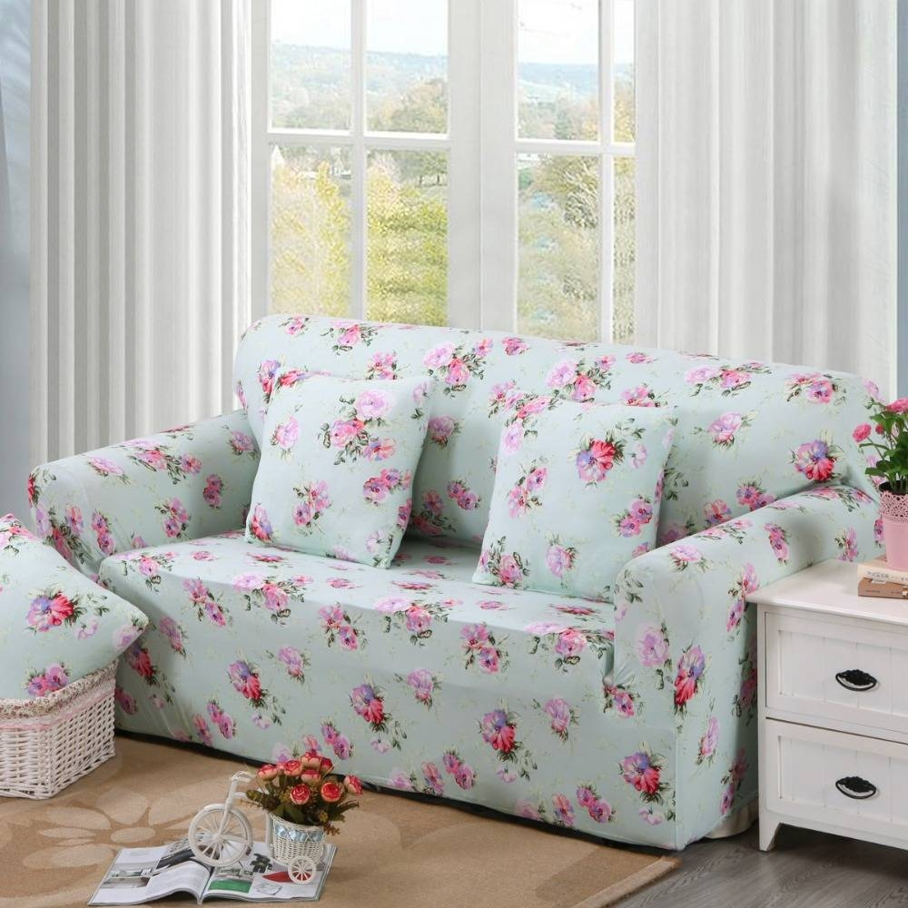 Online Get Cheap Floral Sofa Slipcovers -Aliexpress | Alibaba with regard to Floral Sofa Slipcovers (Image 9 of 15)