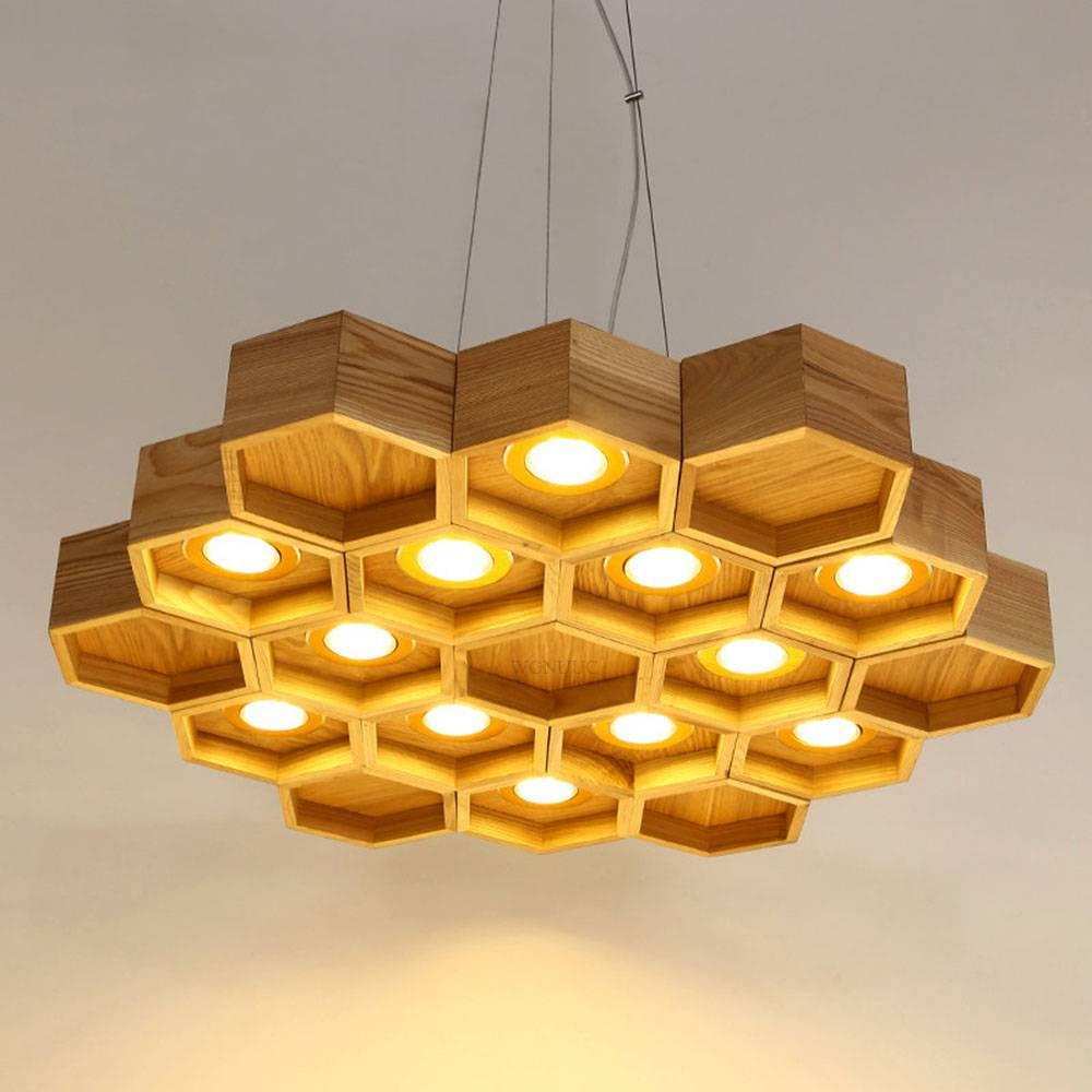 Led Light Fixtures Discount: 15 Best Honeycomb Pendant Lights