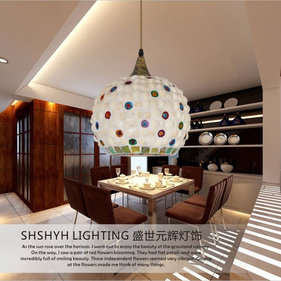 Online Get Cheap Shell Pendant Light Shade -Aliexpress for Shell Lights Shades Pendants (Image 7 of 15)