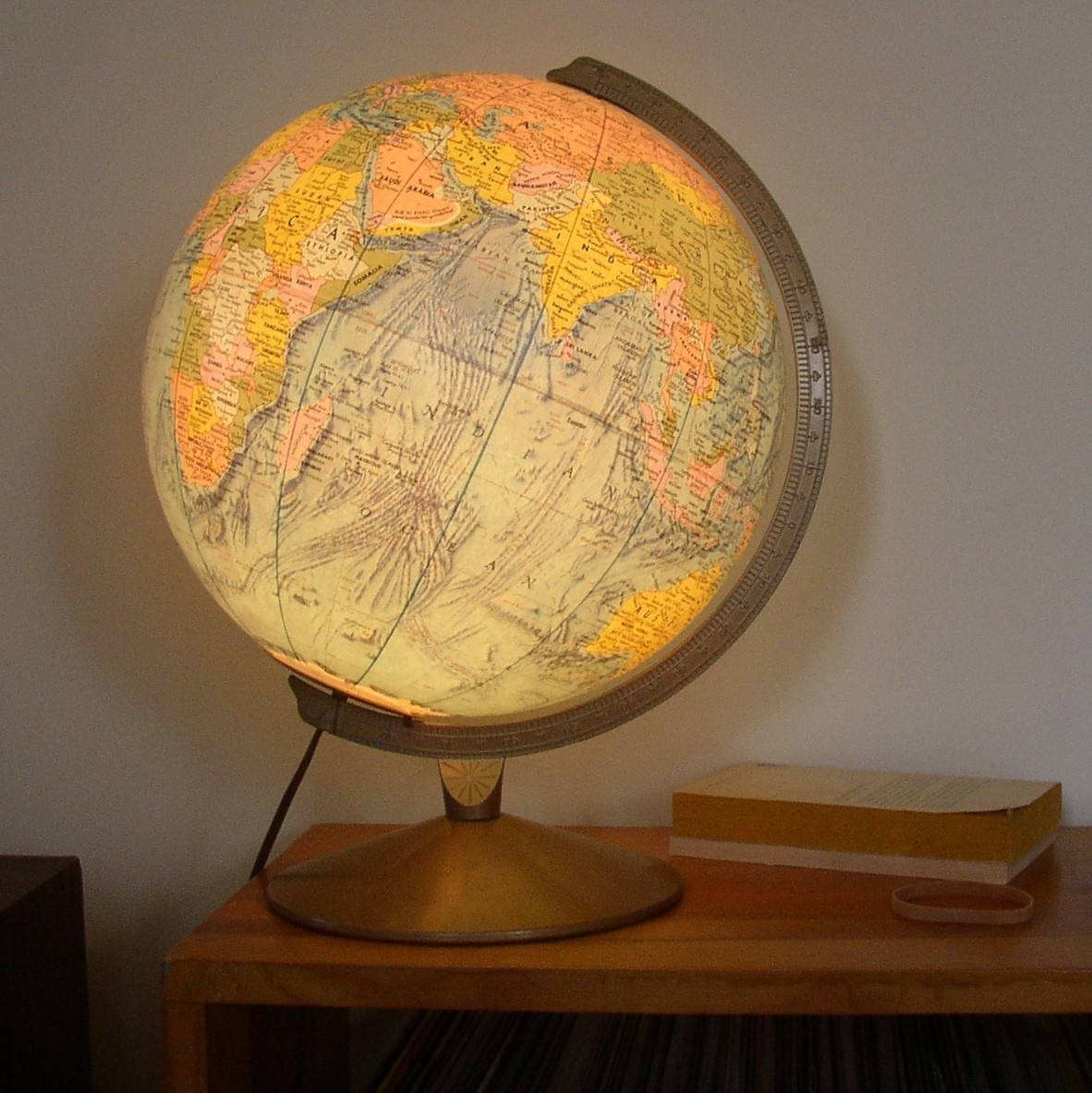 Open The Light Of The World With World Globe Lamps | Warisan Lighting for Earth Globe Lights Fixtures (Image 13 of 15)