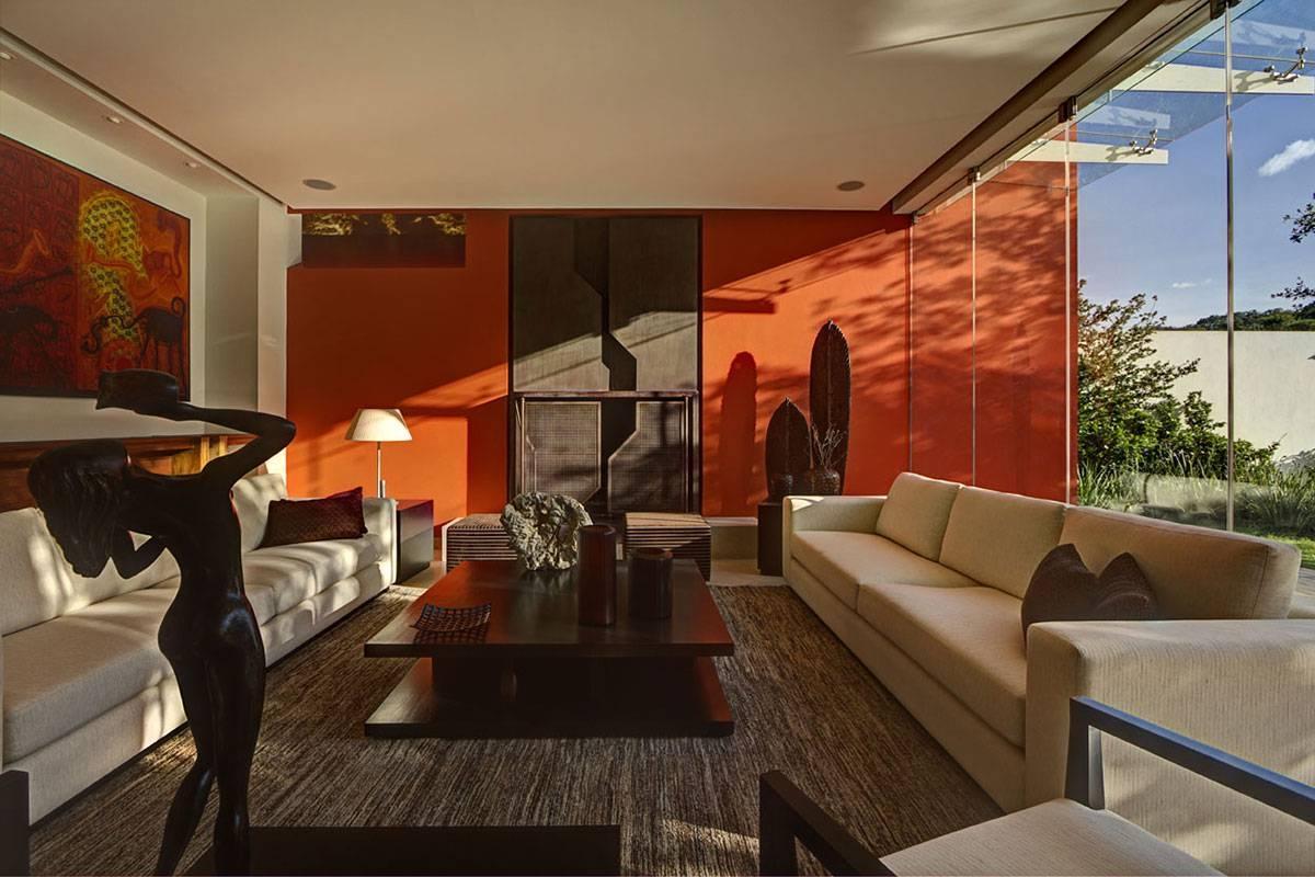 Orange Living Room Design   Home Design Ideas For Burnt Orange Living Room Sofas (View 13 of 15)