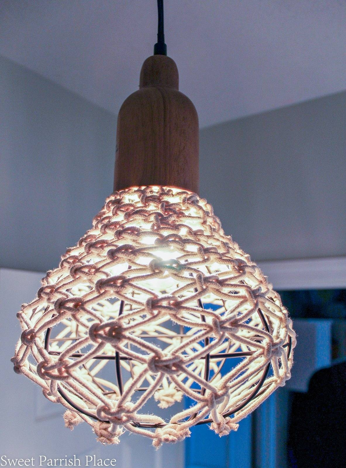 Orc Week 5 | Diy Macrame Pendant • Sweet Parrish Place intended for Macrame Pendant Lights (Image 12 of 15)