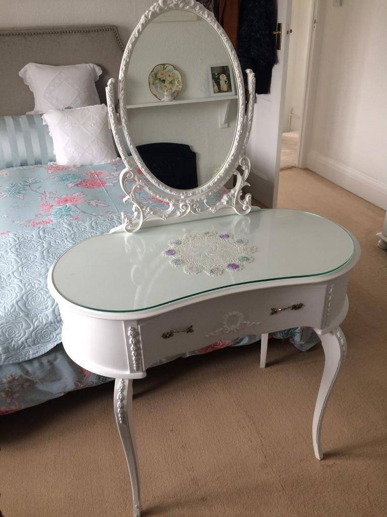 Ornate Dressing Table & Mirror | In Truro, Cornwall | Gumtree intended for Ornate Dressing Table Mirrors (Image 9 of 15)