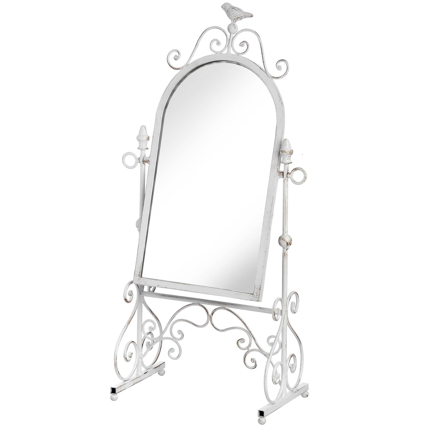 Ornate Floor Standing Mirror From Hill Interiors Inside Ornate Dressing Table Mirrors (View 7 of 15)