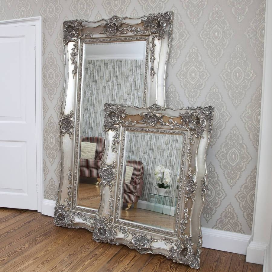Ornate Mirrors For Sale 125 Awesome Exterior With Large Wall regarding Large Antique Silver Mirrors (Image 9 of 15)