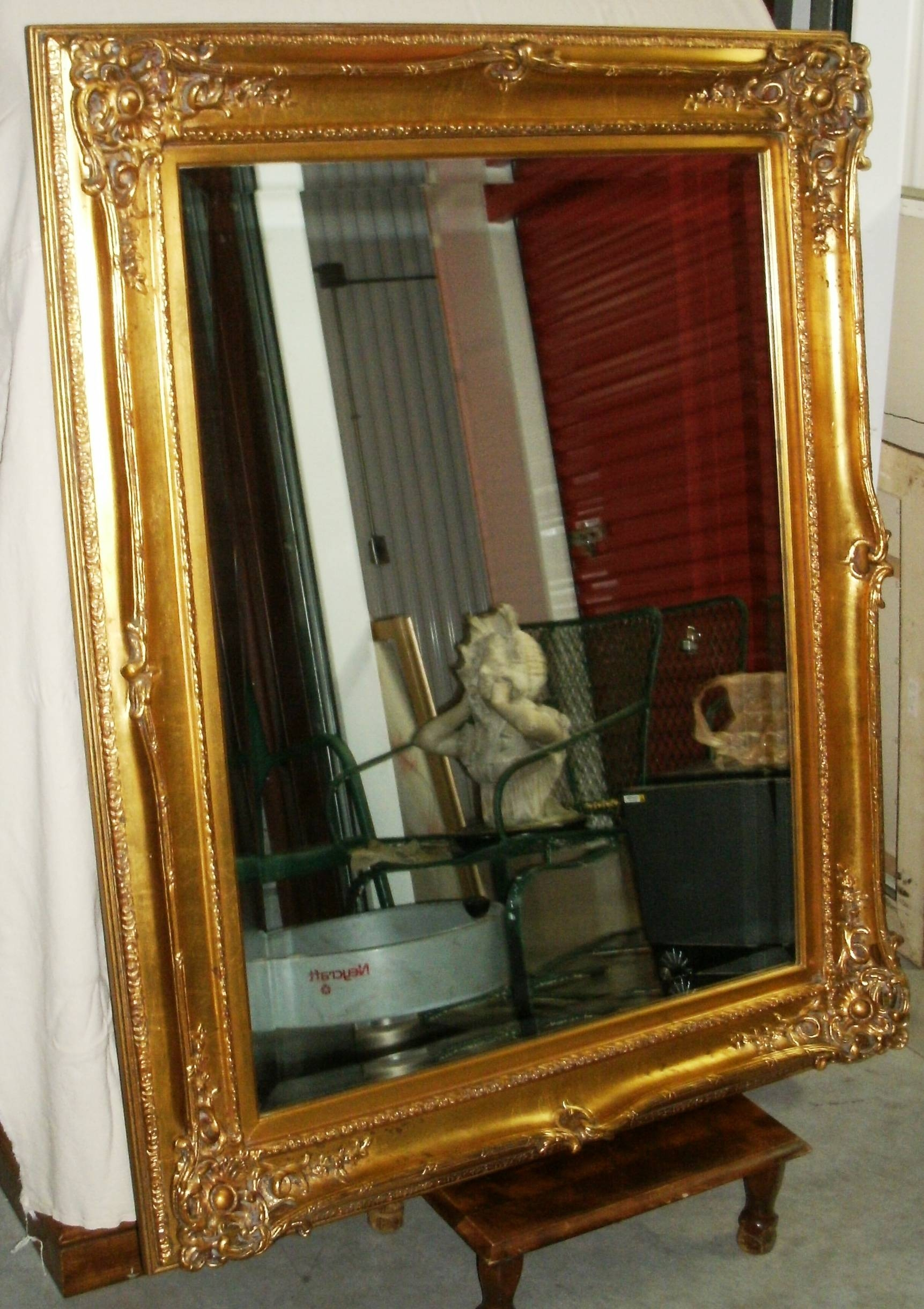 Ornate Mirrors For Sale 23 Beautiful Decoration Also Zoom Pertaining To Large Gold Ornate Mirrors (View 11 of 15)