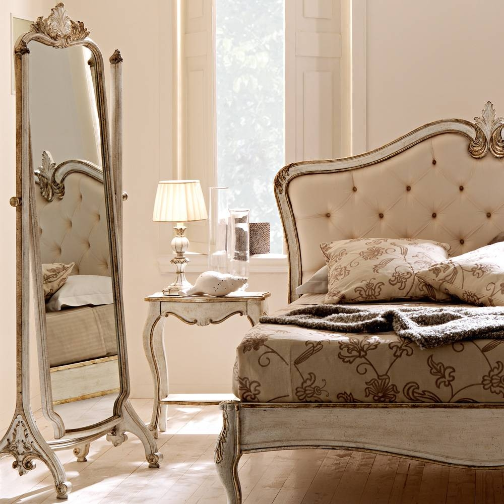Ornate Rococo Freestanding Full Length Mirror | Juliettes within Ornate Free Standing Mirrors (Image 14 of 15)