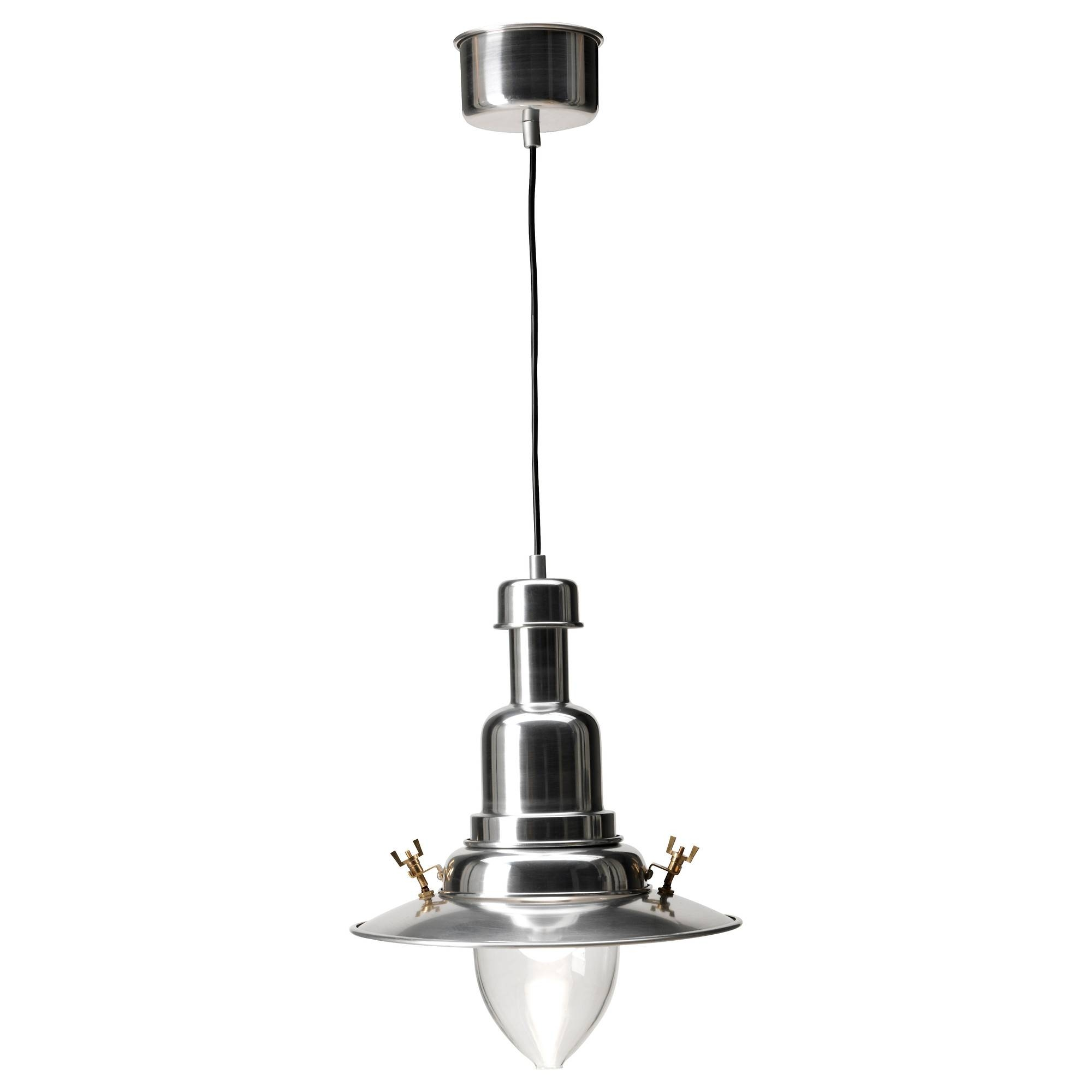 Ottava Pendant Lamp Aluminium - Ikea pertaining to Ikea Pendent Lights (Image 11 of 15)