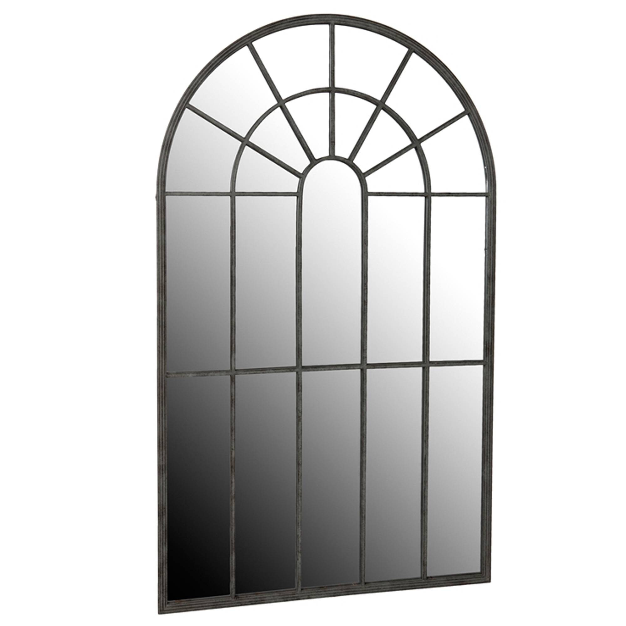 Outdoor Garden Shutter Mirror | No 44 Furniture, Cobham with regard to Metal Garden Mirrors (Image 12 of 15)