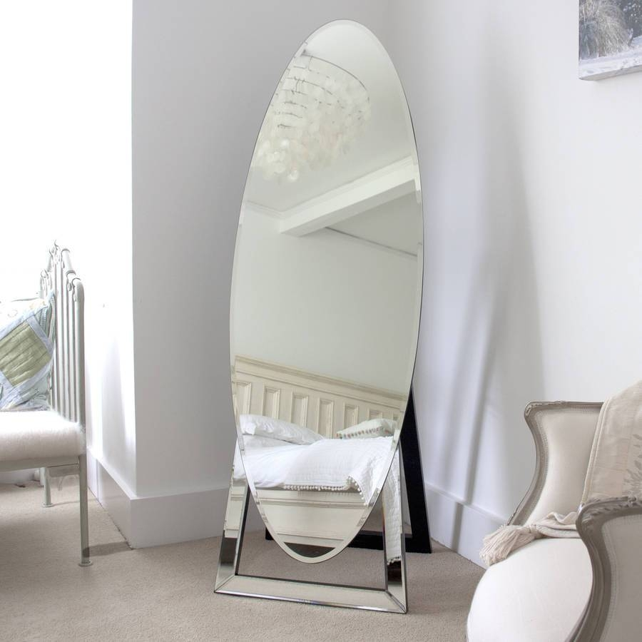Oval Cheval Mirrordecorative Mirrors Online for Cheval Freestanding Mirrors (Image 15 of 15)