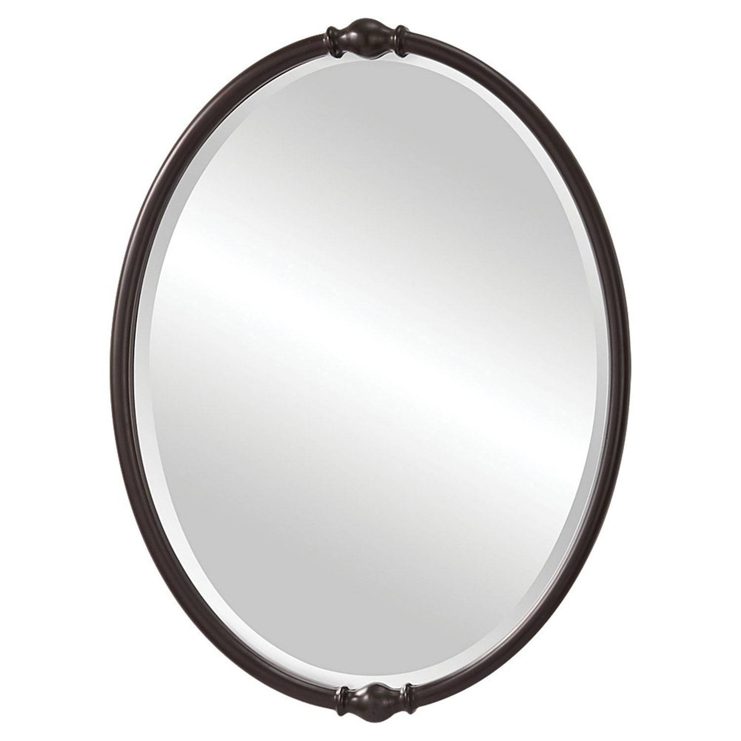 Oval Mirrors | Bellacor for Large Bronze Mirrors (Image 10 of 15)