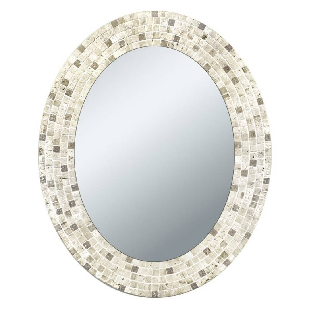 Oval Wall Mirrors Decorative : Oval Wall Mirror And The Aspect Of intended for Oval Cream Mirrors (Image 13 of 15)
