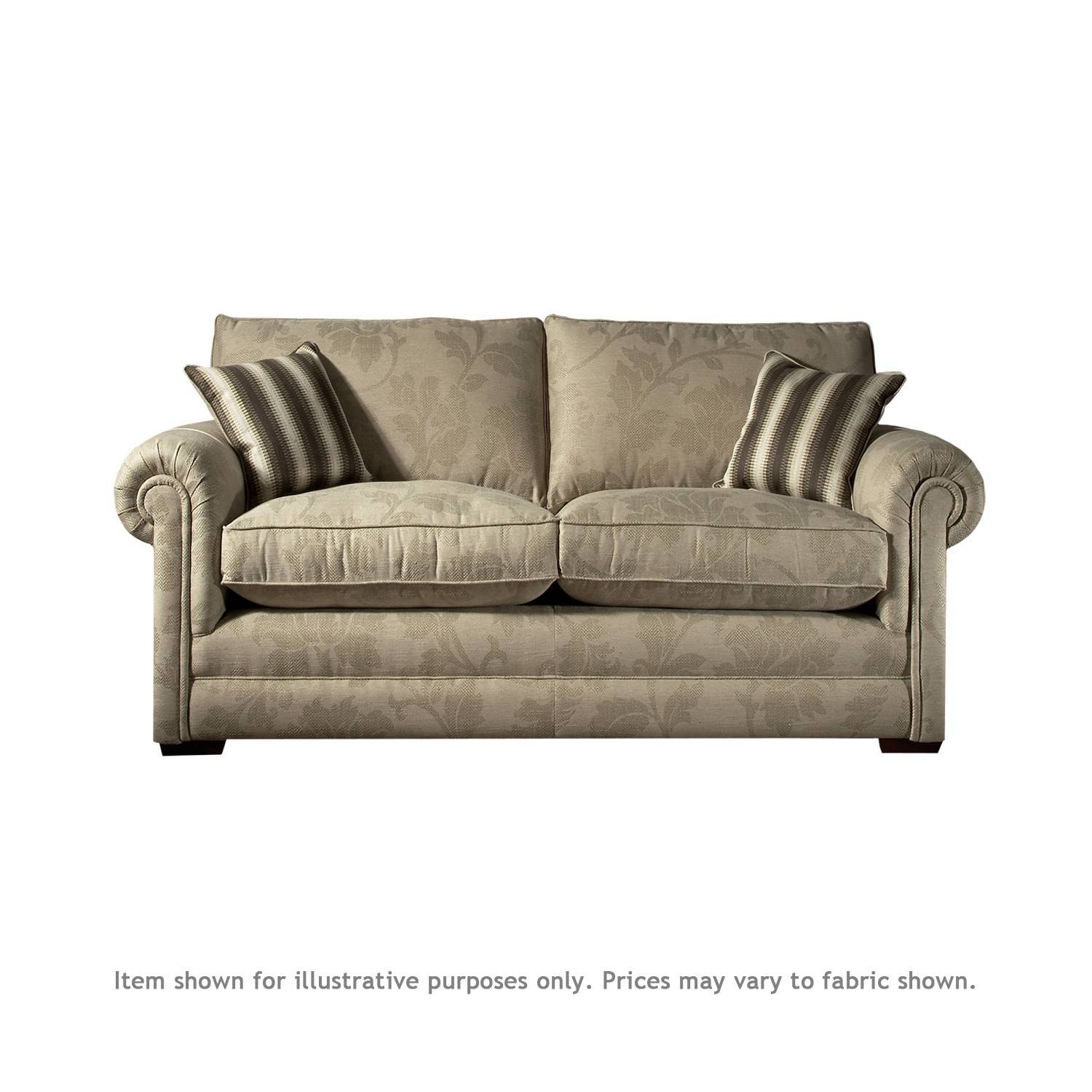 Parker Knoll Parker Knoll Canterbury Small 2 Seater Sofa – Leather Throughout Knoll Sofas (View 3 of 15)