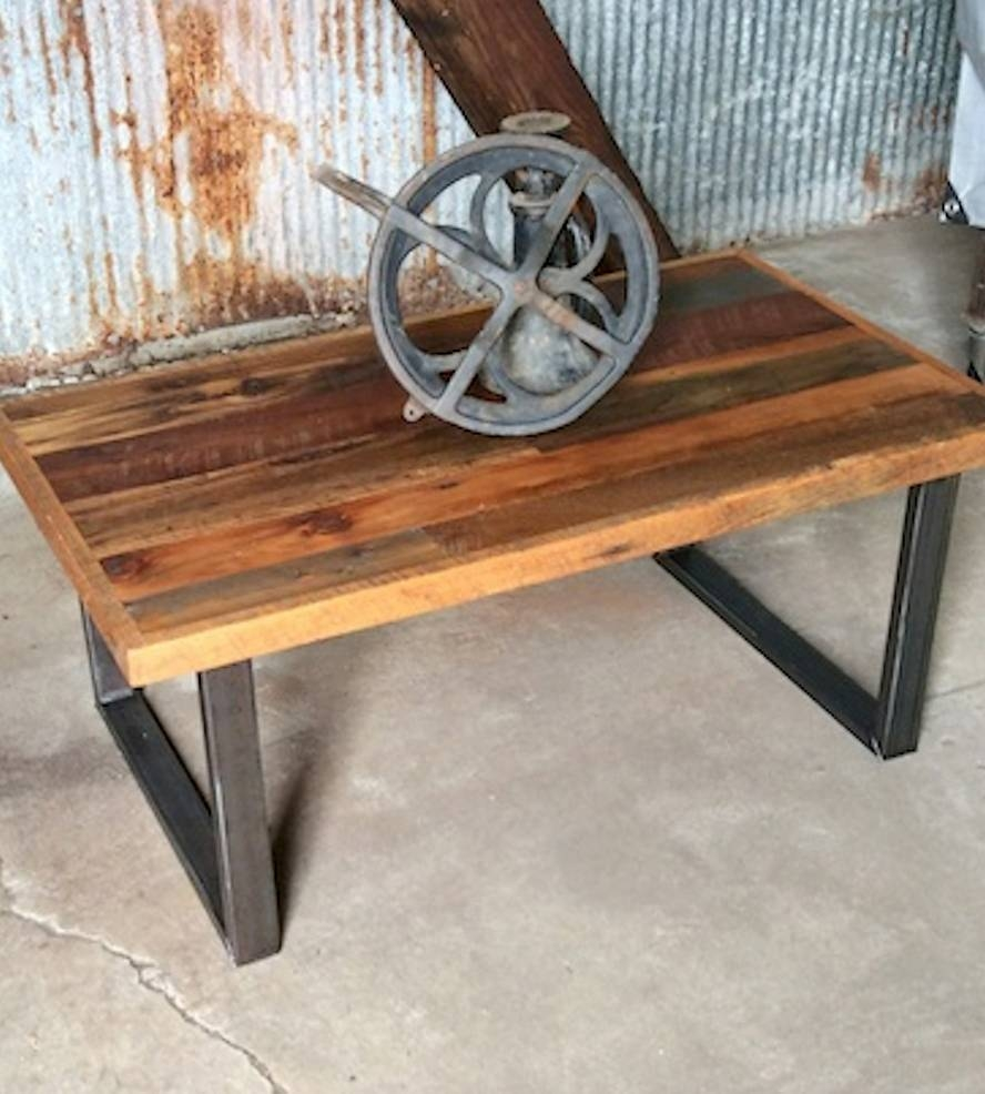Patchwork Reclaimed Wood Coffee Table | Home Furniture | What We for Reclaimed Wood Coffee Tables (Image 9 of 15)