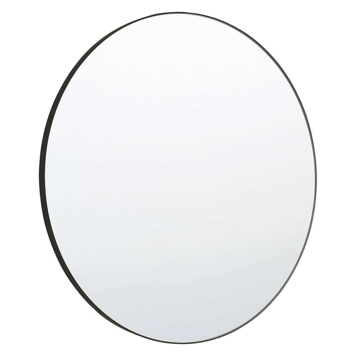 Patsy Large Round Black Wall Mirror D82Cm | Buy Now At Habitat Uk within Large Black Round Mirrors (Image 12 of 15)