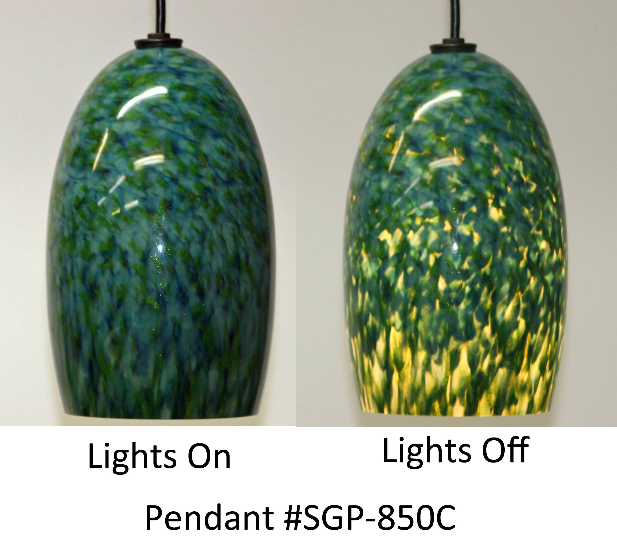 Peacock Feathers Pendant Lights | Artisan Crafted Lighting intended for Artisan Glass Pendant Lights (Image 21 of 23)