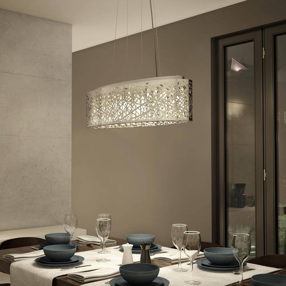Pendant Crystal Light Fixture (Oval) - Lighting | Artika with Oval Pendant Lights Fixtures (Image 14 of 15)