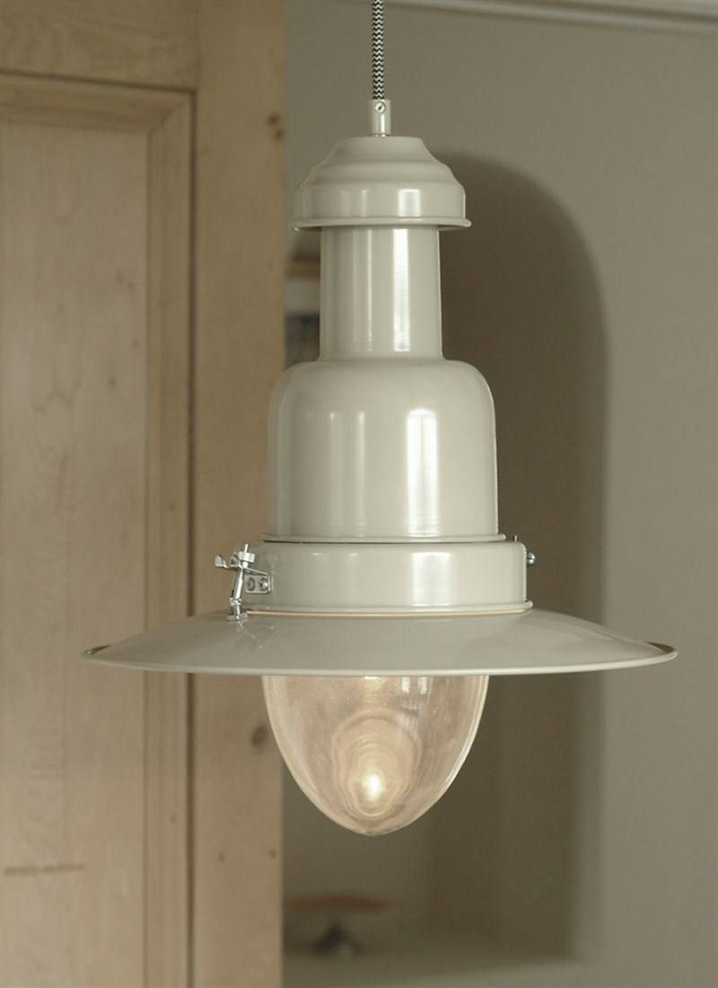 Pendant Fishing Light, Large In Clay | Garden Trading inside Pendant Fishing Lights (Image 12 of 15)